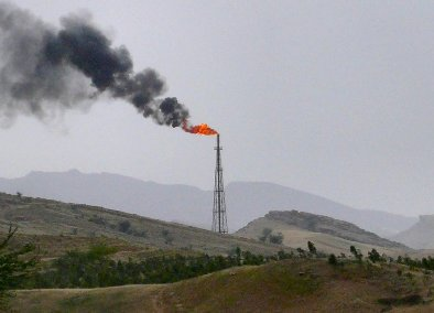 הפקת נפט באיראן