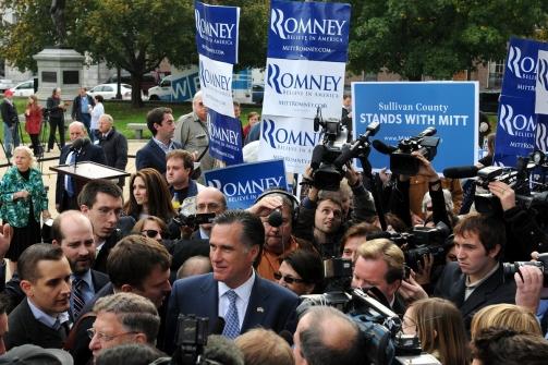 הרפובליקנים בניו המפשייר הולכים לקלפי; יתרון נוח לרומני בסקרים