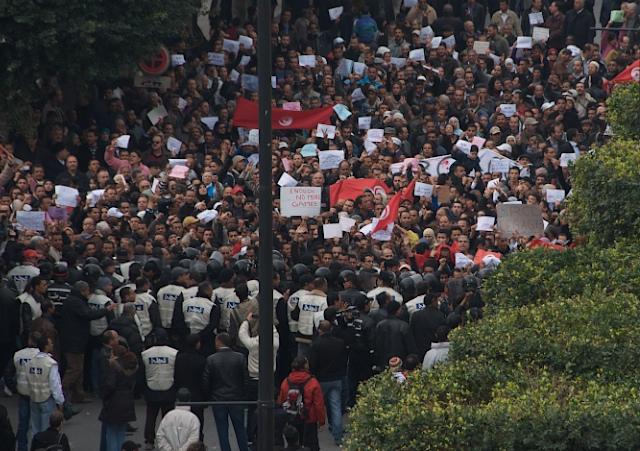 ההפיכה בתוניסיה 2011 - ויקישיתוף