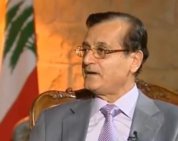שר החוץ הלבנוני עדנאן מנסור