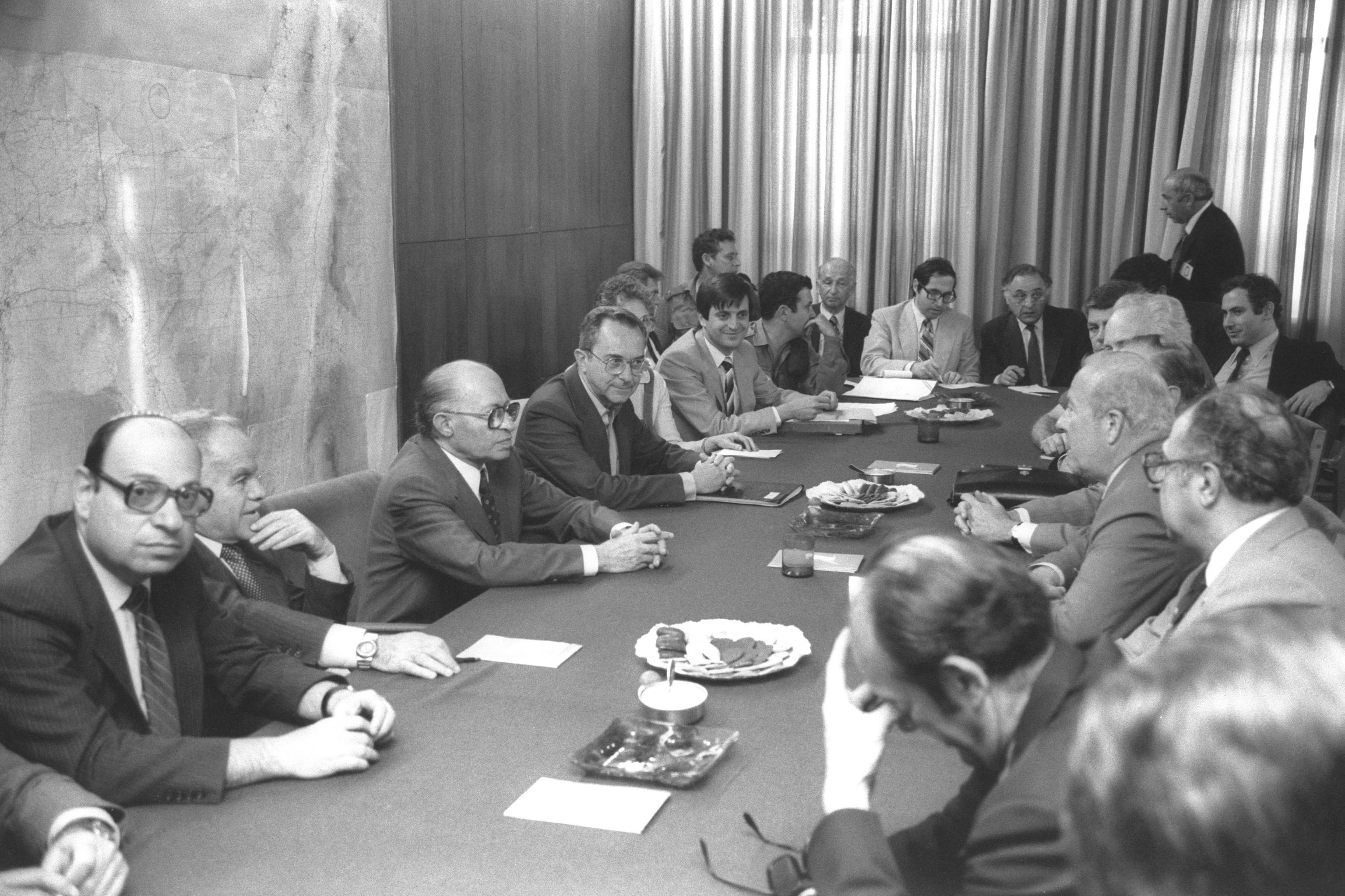 ראש הממשלה מנחם בגין ומזכיר המדינה האמריקאיח, ג