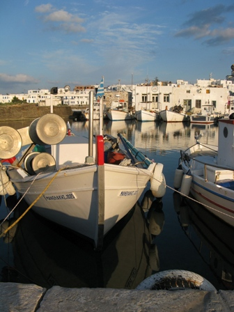 סירות באי פארוס, צילום: רונית בן סעדון