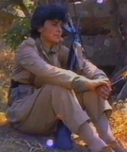 לוחמת PKK בהרי מזרח אנטוליה