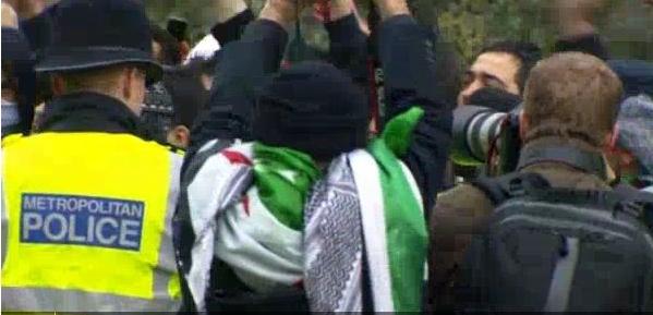 המחאה מתרחבת - אלימות בלונדון