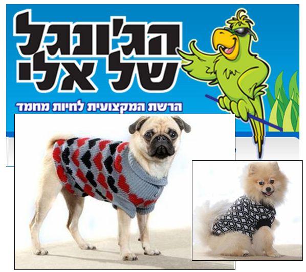 חנות בגדי כלבים