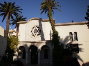 בית הכנסת בניס, צרפת. 78% מהתיירים הצרפתיים הם יהודים. צילום עירית רוזנבלום