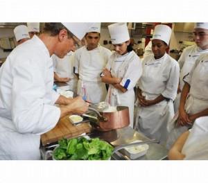 יפתח שלוחה בישראל: בית הספר הגבוה למסעדנות ואטל. צילום מאתר בית הספר