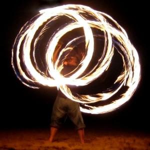 """משחקי אש מסורתיים של """"צ'הארשנבה סורי"""" (Wikimedia/Haloeffect)"""