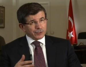שר החוץ הטורקי אהמת דבוטאואלו