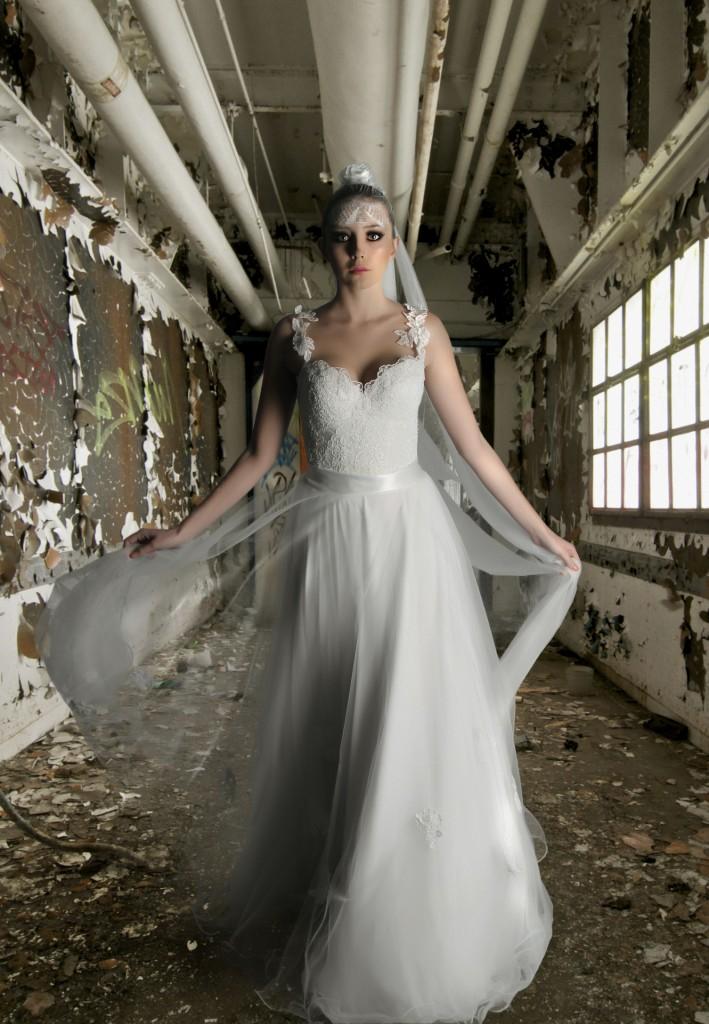 בואי כלה, אל תדאגי - נשפץ עד החתונה. שמלת כלה של פפה
