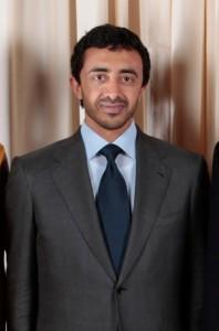 עבדאללה בן זאיד אאל נהיאן, שר החוץ של איחוד האמירויות (White House/Lawrence Jackson)