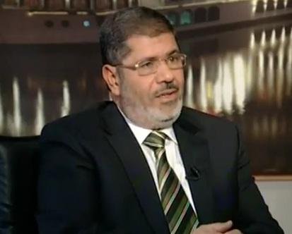 מוחמד מורסי, מועמד האחים המוסלמים לנשיאות מצרים