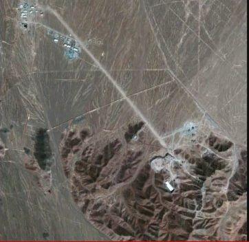 מסתירים מתקן גרעיני סמוך לעיר קדושה