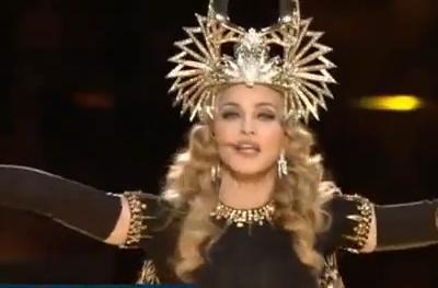 Madonna as Cleopatra