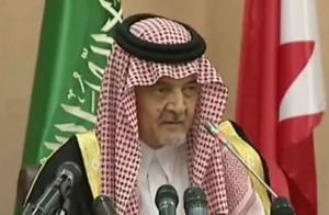 שר החוץ הסעודי, הנסיך סעוד אל-פייסל