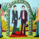 חתונה גאה (צייר: רפי פרץ)