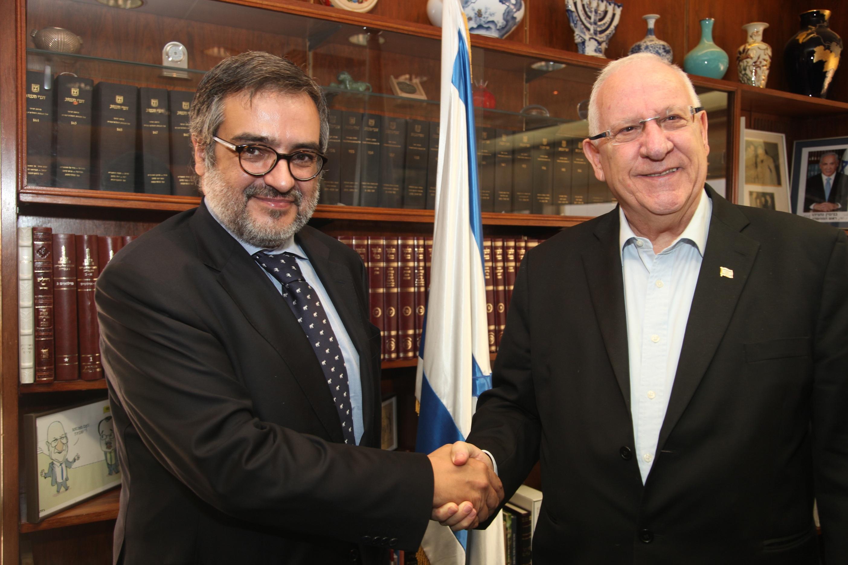 """ריבלין: """"אופטימי ביחס לעתיד היחסים בין מצרים לישראל"""""""