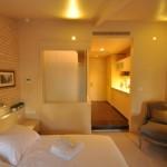 חדר במלון הטמפלרס החדש בחיפה