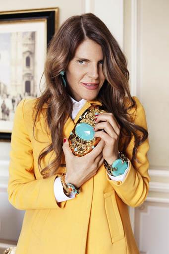 אנה דלו רוסו תשתף פעולה עם H&M. צילום: H&M