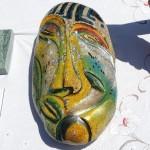 אבן וצבע - צילום: עמית מנדלזון