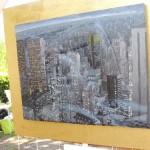 ציור על תבליט - צילום: עמית מנדלזון