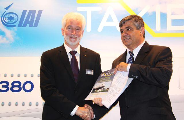 התעשייה האווירית ולופטהנזה יבצעו ניסויים מבצעיים של מערכת הטאקסיבוט