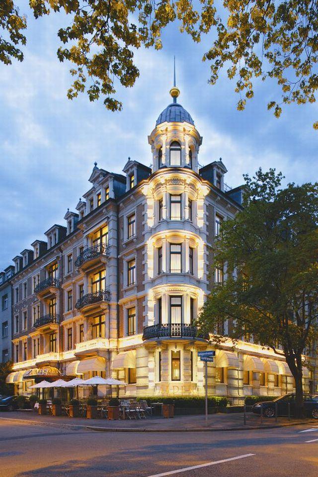 מלון הסוויטות אלדן בציריך, בארמון לשימור ששופץ. רשת פתאל תנהל
