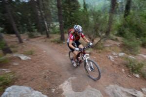 """שביל האופניים ביער שגב: עליות, ירידות, תמרונים. צילום רונן גולן, קק""""ל"""