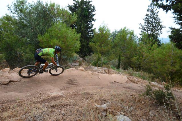 """שביל אופניים אתגרי חדש ביער שגב. צילום רונן גולן, קק""""ל"""