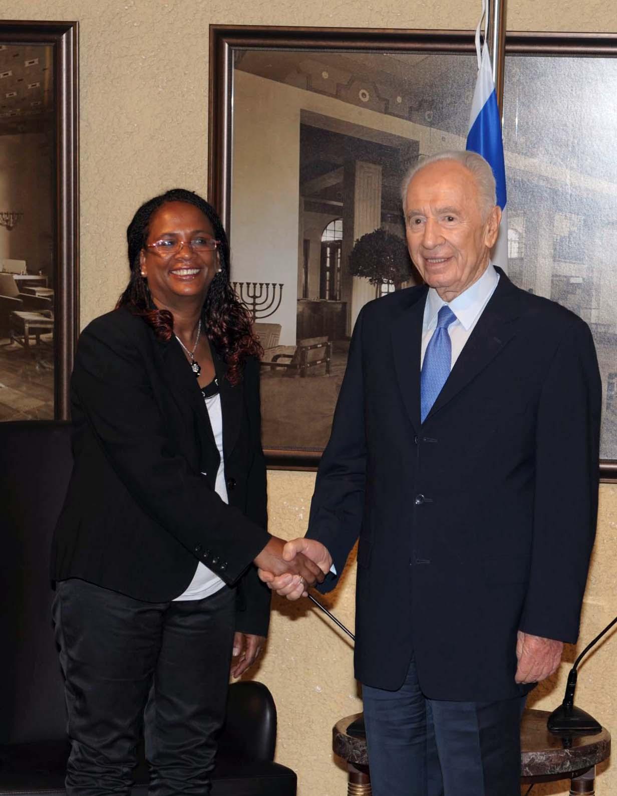 הנשיא פרס בירך את השגרירה הראשונה מעולי אתיופיה, היוצאת לאדיס אבבה