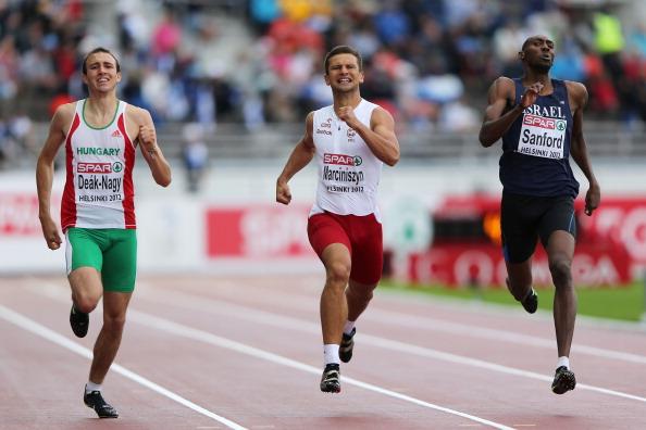 לקראת לונדון: סנפורד ובן ארצי אתלטי חודש יוני 2012