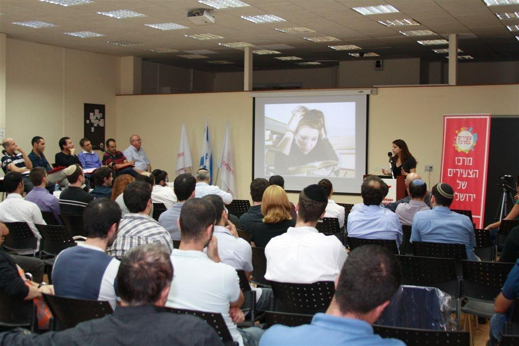 יזמים מובילים מרחבי הארץ הגיעו להשקיע ביזמים צעירים בירושלים