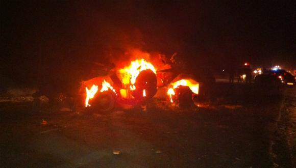 חמושים תקפו שוטרים מצרים וניסו לחדור עם משוריינים בכרם שלום