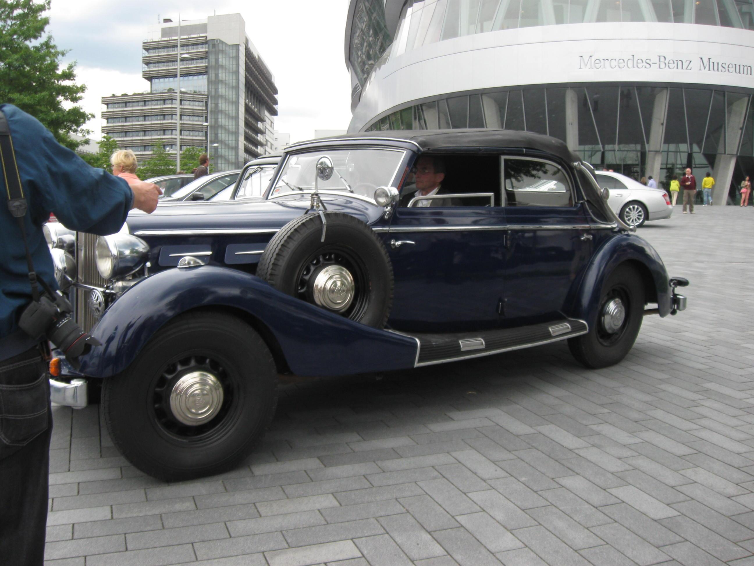 שודרג מוזיאון המכוניות של סקודה