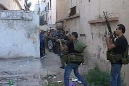 מלחמת האזרחים בסוריה גולשת ללבנון