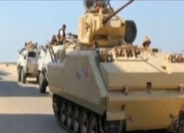 טנקים מצריים בסיני
