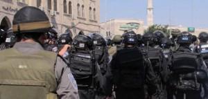 הפרות סדר בירושלים ביום שישי שחלף (צילום: משטרת ישראל)