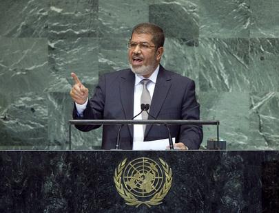 """מורסי באו""""ם: מצרים תשמור ותכבד את ההסכמים"""