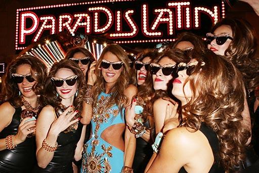 השקת קולקציית AdR at H&M. אנה דלו רוסו ודוגמניות בפרטי הקולקציה. צילום: ADR AT H&M