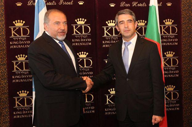 פגישת השר ליברמן עם נשיא בולגריה, פלבנלייב היום (צילום: יוסי זמיר)