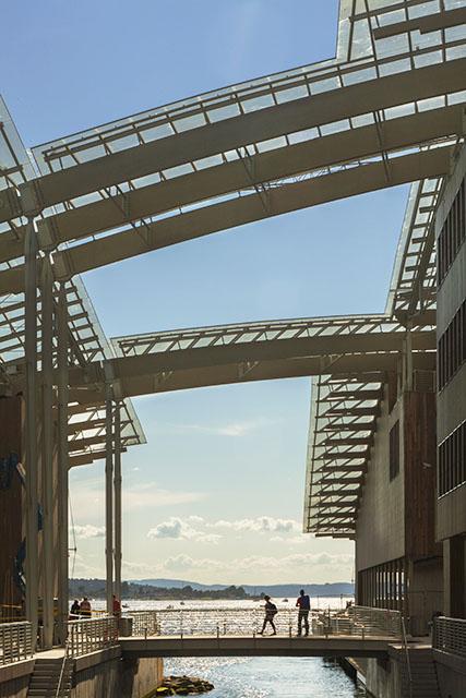 מראה מעל הגשר. צילום: Astrup Fearnley Museeet/Nic Lehoux