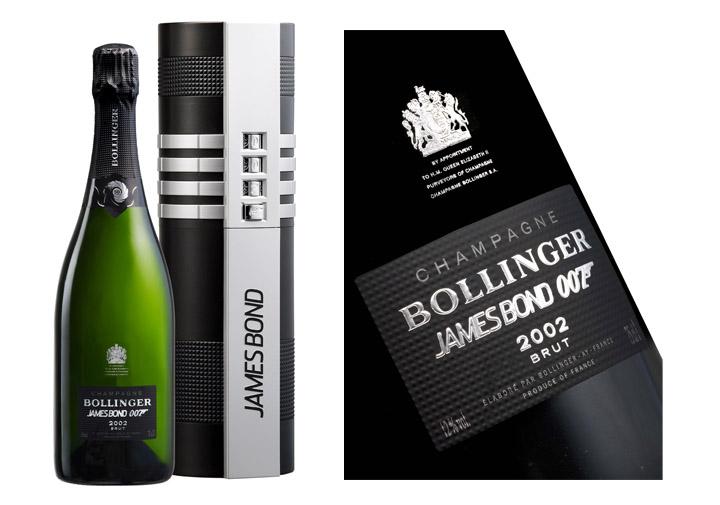 """מארז שמפנייה בולנז'ה (125 ליש""""ט). """"Bollinger 002 for 007"""". צילום: יח""""ץ חו""""ל"""