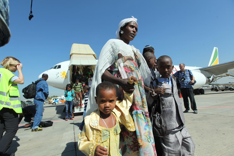 החל השלב האחרון בהבאת עולים מאתיופיה לישראל