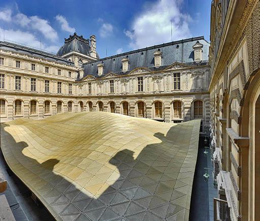 האגף החדש במוזיאון הלובר. צילום: Raffaele Cipolletta. באדיבות משרד אדריכלים מריו בליני