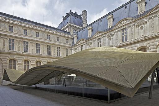 האגף החדש במוזיאון הלובר. צילום: Philippe  Ruault. באדיבות משרד אדריכלים מריו בליני ומוזיאון הלובר