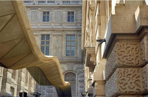 נקודת החיבור בין ישן וחדש. באדיבות האדריכלים מריו בליני ורודי ריקיוטי