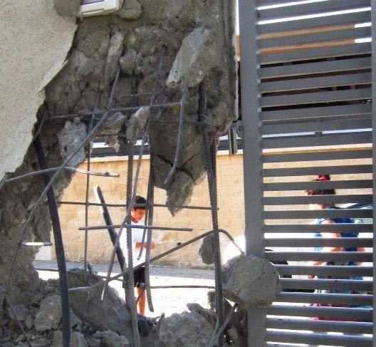צוותי מס רכוש בודקים נזקים ביישובי הדרום
