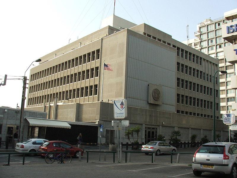 """עובד שגרירות ארה""""ב הותקף"""
