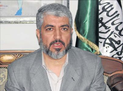 """חאלד משעל הביע תמיכה בפניית אבו מאזן לאו""""ם"""