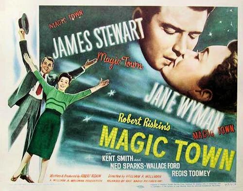 Risultati immagini per magic town film 1947